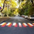 Пешеходные переходы с 3D-разметкой появились в Алматы