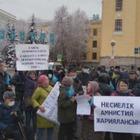 Активисты Демпартии провели митинг в Алматы