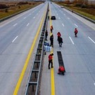 На автомобильной дороге Астана-Щучинск установили музыкальные полосы