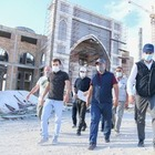 В Туркестане строят мечеть, которую спонсирует президент Узбекистана