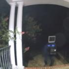 В США мужчина с телевизором на голове оставил соседям 50 старых телевизоров