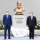 Токаев открыл бронзовый бюст Абая в Сеуле