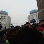 Полицейский обратился к митингующим:«Требую, чтобы все разошлись!»