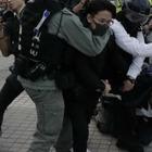 В Гонконге прошли митинги в поддержку уйгуров в Китае