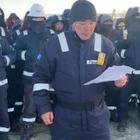 Строители итальянской компании Bonatti в Западно-Казахстанской области объявили голодовку