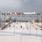 В столице появится горка для лыжников и сноубордистов
