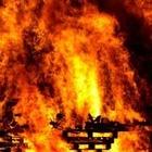 На алматинской барахолке произошел пожар