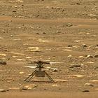 Мини-вертолет NASA совершил первый полет в атмосфере Марса