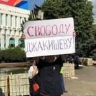 Алматинец Сергей Дуванов вышел на одиночный пикет. Его не задержали!