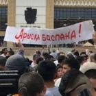 Шествие в Шымкенте продолжилось у городской площади