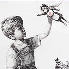 В английской больнице появилась картина Banksy