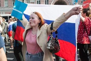 «Он нам не царь»: Эксклюзивный репортаж с митингов в Москвe