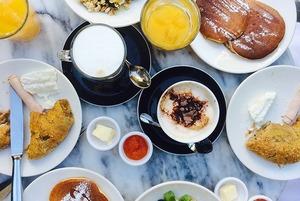 12 мест для завтрака в Астане