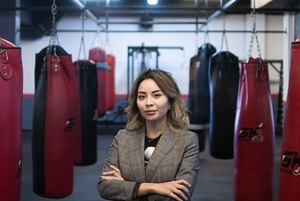 Неслабый пол: Аяла Конакбаева о том, каково это — ассоциироваться с боксом в Казахстане