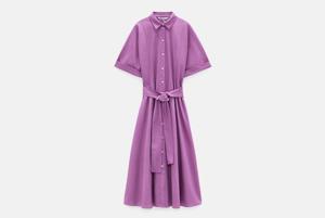 13 летних платьев на пуговицах: мини, миди и винтаж