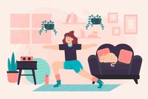 Как начать тренироваться в домашних условиях
