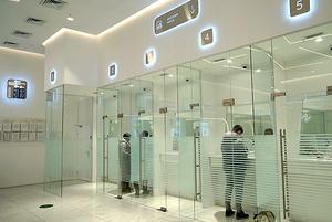 Как выглядит офис Halyk Bank