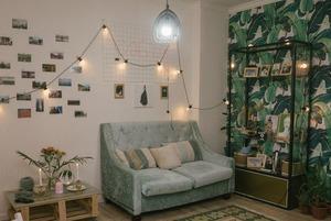 Уютная квартира в бохо-стиле в Астане