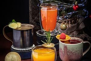 4 горячих алкогольных и безалкогольных коктейля на зиму