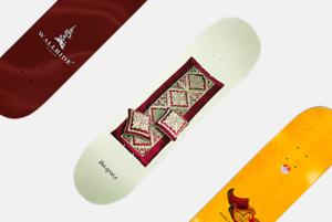 Этнические скейтборды от Wallride Store