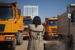 Шаманы и кобыз: Как прошел перформанс в защиту Малого Талдыколя