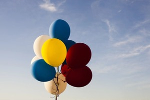 Отказаться от воздушных шаров на праздниках