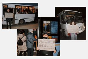 «Автобусов нет, но вы держитесь»: Активисты Актобе о транспортном коллапсе в городе